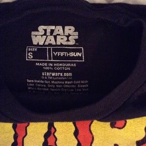Star Wars Shirts - Lot of three men's small Star Wars t-shirts